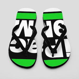 ipac 9mm green Flip Flops