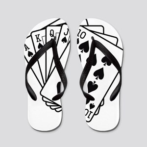 Royal Flush Flip Flops