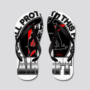 Protect Flag Airsoft Flip Flops