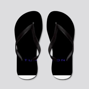 Turn Me On Blue Flip Flops