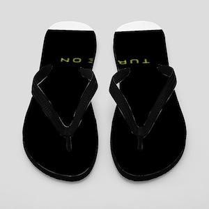Turn Me On Yellow Flip Flops