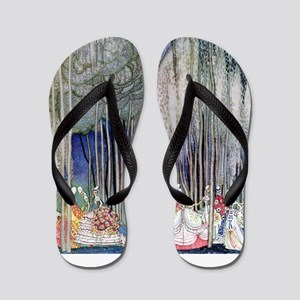 Kay Nielsen - Twelve Dancing Princesses Flip Flops