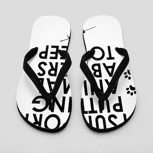 I support putting animal abusers to sleep Flip Flo