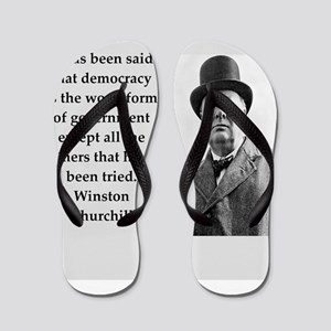 Wisnton Churchill quote on gifts and t-shirts. Fli