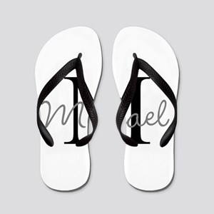 Customize Monogram Initials Flip Flops