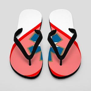 I Love Colorado EMS Flip Flops