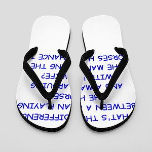 HORSES Flip Flops