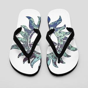 Supernatural Symbol Flip Flops