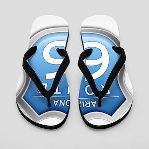 Arizona Route 66 - Blue Flip Flops