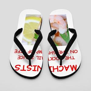 machinist Flip Flops