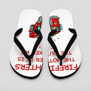 firefighter Flip Flops
