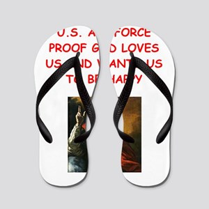 us air force Flip Flops