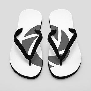 movies film 72-Sev gray Flip Flops