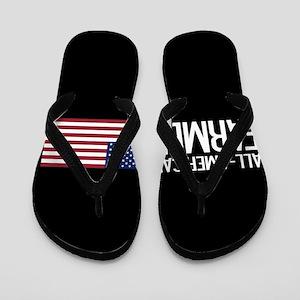 Farmer: All-American (Black) Flip Flops