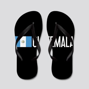 Guatemalan Flag & Guatemala Flip Flops
