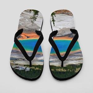 GRAND PRISMATIC SPRING Flip Flops