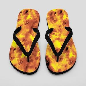 Raging Inferno Flip Flops