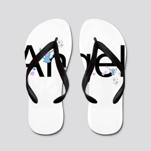 Personalizable Cute ANGEL Flip Flops