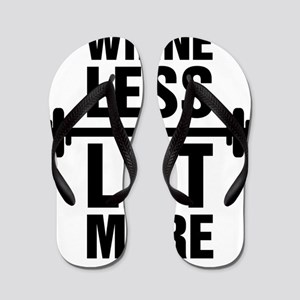 Whine Less Lift More Workout Tank Flip Flops
