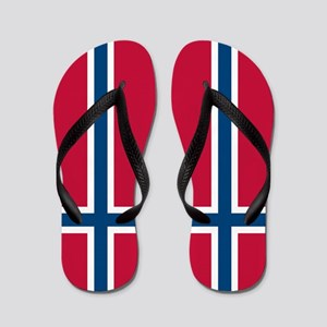 Norwegian Flag Flip Flops