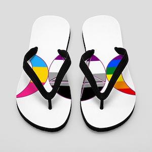 Gay Pride DemiSexual PanSexual Goddess Pentacle Fl