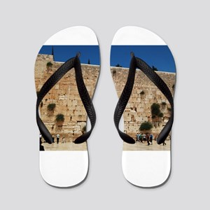 Western Wall (Kotel), Jerusalem, Israel Flip Flops