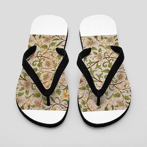 William Morris Daffodil Flip Flops