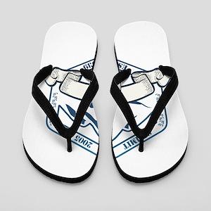 Alta Ski Resort Utah Flip Flops