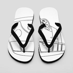 70s Van Flip Flops
