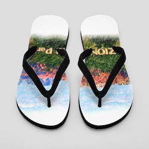 Zion National Park, Utah Flip Flops