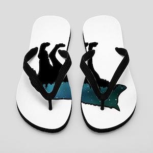 WOLF NIGHTLY Flip Flops