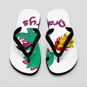 Cute Dragon Dracarys Flip Flops