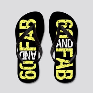 Fabulous 60th Birthday Flip Flops