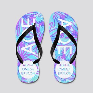 Alpha Omega Epsilon Flip Flops