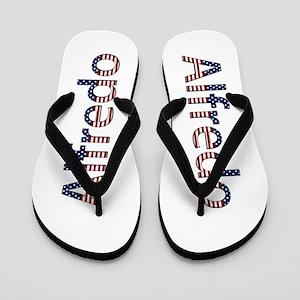 Alfredo Stars and Stripes Flip Flops