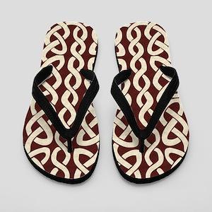 Velvet Celtic Flip Flops