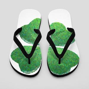 St Patrick Shamrock SG Flip Flops
