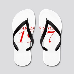 FABULOUS SINCE 1947-Bod red 300 Flip Flops