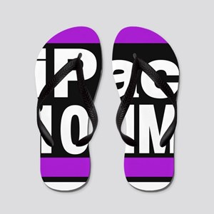 ipac 10mm purple Flip Flops