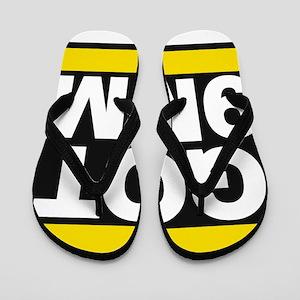 got 9mm yellow Flip Flops