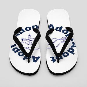 Adopt V2.0 Blue Flip Flops