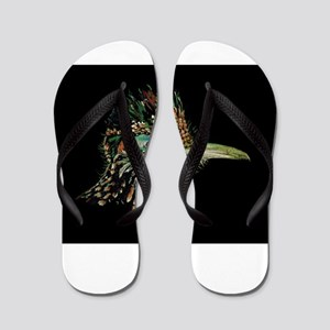 Greater Roadrunner Flip Flops