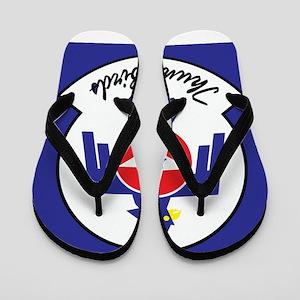 U.S. Air Force Thunderbirds Flip Flops