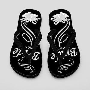 Elegant Bride Flip Flops