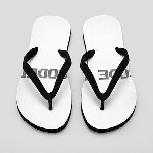 Code Blooded Flip Flops