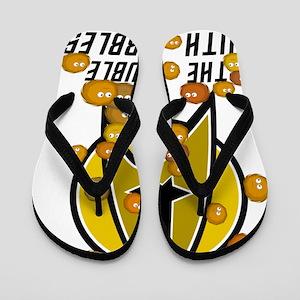 troublewithtribbles01 Flip Flops