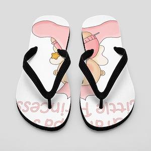 grandpas little princess Flip Flops