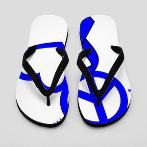 Blue, Hope Flip Flops