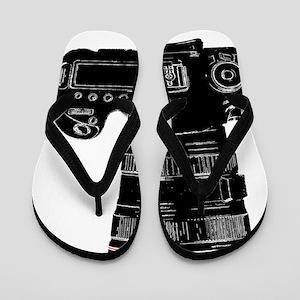Camera Up! Flip Flops