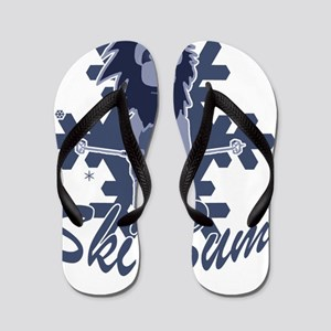 Ski Bum Flip Flops